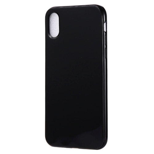 Candy Color TPU Case for iPhone X / XS(Black)