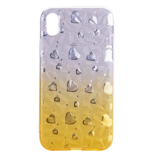 Sunsky Heart Pattern Diamond Texture Tpu Protector Back