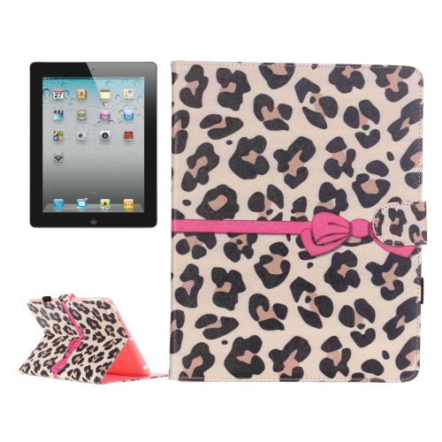 Buy For iPad 4 / iPad 3 (New iPad) / iPad 2 Yellow Leopard Pattern Horizontal Flip Leather Case with Holder & Card Slots & Wallet for $5.64 in SUNSKY store