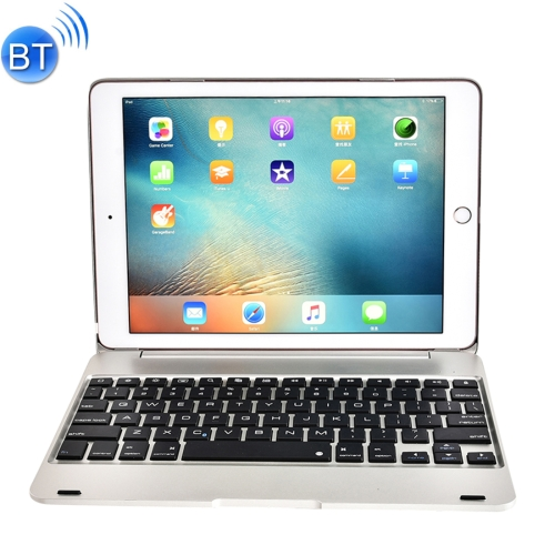 Buy For iPad Pro 9.7 inch / iPAD Air 2 Horizontal Flip Case + Bluetooth Keyboard, Silver for $17.36 in SUNSKY store
