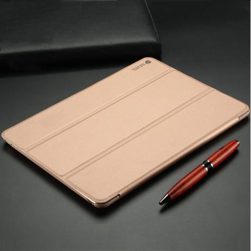 DUX DUCIS Skin Pro Series Horizontal Flip PU + PC Leather Case for iPad Mini 2019 & Mini 4, with Three-folding Holder (Pink)