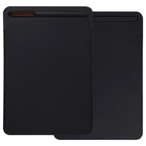 For iPad Pro 12.9 inch Portable Ultra Slim Leather Protective Case Bag with Apple Pencil Stylus Slot Holder(Black) tablet case for surface pro 3 pro 4 ultra thin portable sleeve handbag for microsoft surface pro 5 12 3 inch pouch bag