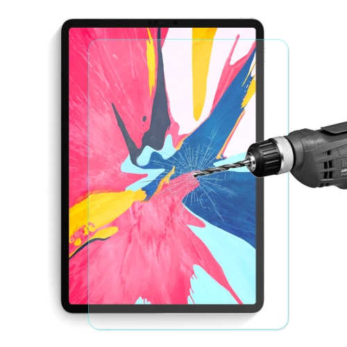 ENKAY Hat-Prince 0.33mm 9H 2.5D Curved Edge Full Screen Tempered Glass Film for iPad Pro 11 inch (2018)