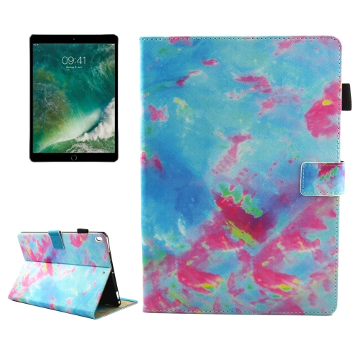 Buy For iPad Pro 10.5 inch Colorful Marble Pattern Horizontal Flip Leather Protective Case with Holder & Card Slots & Wallet & Pen Slot &Sleep / Wake-up for $4.92 in SUNSKY store