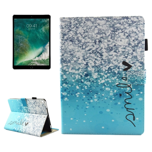 Buy For iPad Pro 10.5 inch Smile Pattern Horizontal Flip Leather Protective Case with Holder & Card Slots & Wallet & Pen Slot &Sleep / Wake-up for $4.71 in SUNSKY store