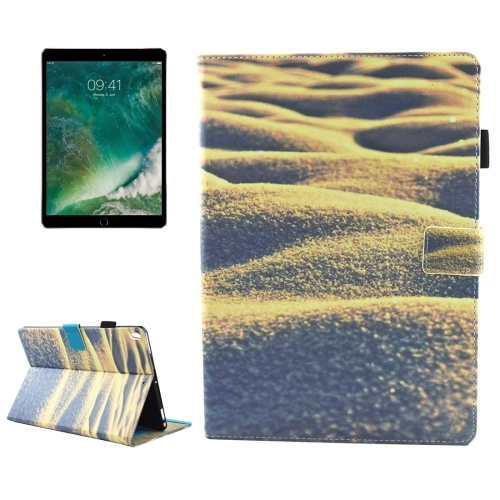 Buy For iPad Pro 10.5 inch Desert Pattern Horizontal Flip Leather Protective Case with Holder & Card Slots & Wallet & Pen Slot &Sleep / Wake-up for $4.71 in SUNSKY store