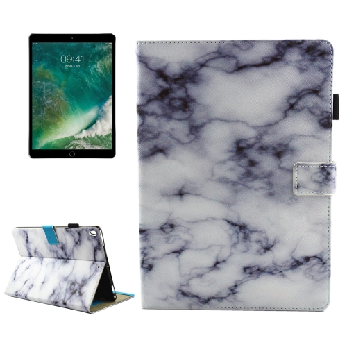 Buy For iPad Pro 10.5 inch Black and White Marble Pattern Horizontal Flip Leather Protective Case with Holder & Card Slots & Wallet & Pen Slot &Sleep / Wake-up for $4.94 in SUNSKY store