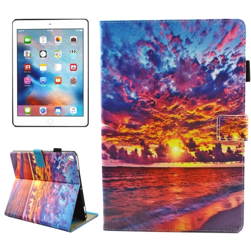 Buy For iPad Pro 10.5 inch Sunset Landscape Pattern Horizontal Flip Leather Protective Case with Holder & Card Slots & Wallet & Pen Slot &Sleep / Wake-up for $4.88 in SUNSKY store