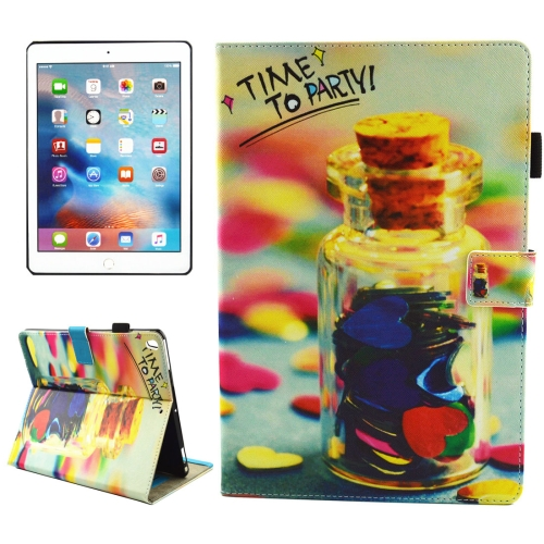 Buy For iPad Pro 10.5 inch TIME TO PARTY Words Pattern Horizontal Flip Leather Protective Case with Holder & Card Slots & Wallet & Pen Slot &Sleep / Wake-up for $4.88 in SUNSKY store