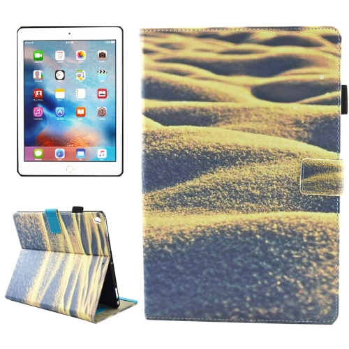 Buy For iPad Pro 10.5 inch Desert Pattern Horizontal Flip Leather Protective Case with Holder & Card Slots & Wallet & Pen Slot &Sleep / Wake-up for $4.88 in SUNSKY store