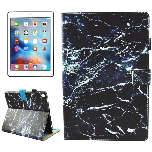 Buy For iPad Pro 10.5 inch Black Marble Pattern Horizontal Flip Leather Protective Case with Holder & Card Slots & Wallet & Pen Slot &Sleep / Wake-up for $4.88 in SUNSKY store