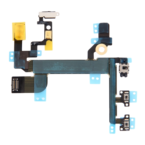 Power Button & Volume Button & Flashlight Flex Cable for iPhone SE