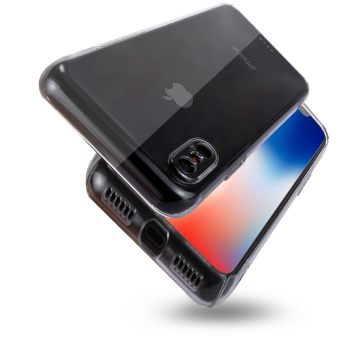 Buy For iPhone X PC Transparent Protective Back Cover Case, Transparent for $1.07 in SUNSKY store