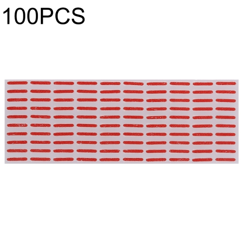 100 PCS Motherboard Water Damage Warranty Indicator Stickers for iPhone X