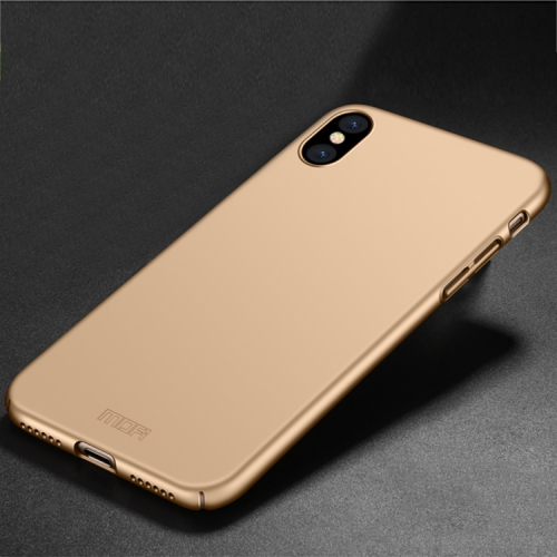 MOFI for iPhone X PC Ultra-thin Full Coverage Protective Back Cover Case(Gold) фото