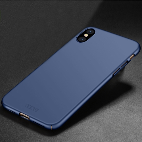 Buy MOFI for iPhone X PC Ultra-thin Full Coverage Protective Back Cover Case, Blue for $3.19 in SUNSKY store