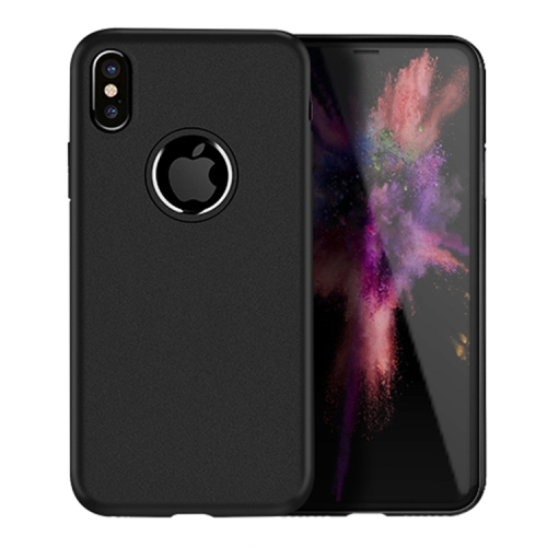 Buy Hoco Fascination Series for iPhone X Frosted Surface TPU Protective Back Case, Black for $1.35 in SUNSKY store