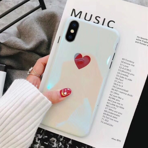 Sunsky For Iphone X Xs Imd Heart Pattern Protective Back