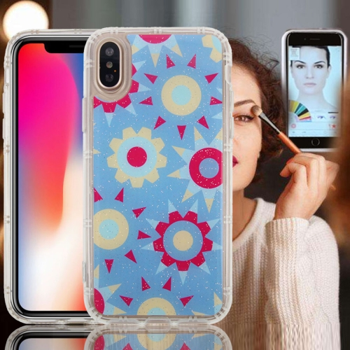Buy For iPhone X Anti-Gravity Nano-suction Technology Dropproof Sunflower Pattern TPU Protective Back Cover Case for $2.77 in SUNSKY store