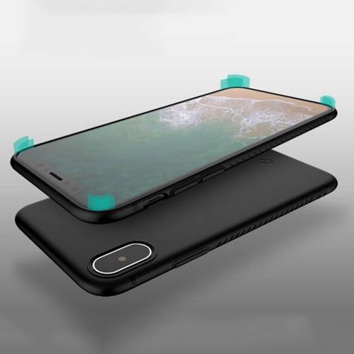 Buy TOTUDESIGN For iPhone X TPU Anti-slip Soft Protective Back Cover Case, Black for $2.65 in SUNSKY store
