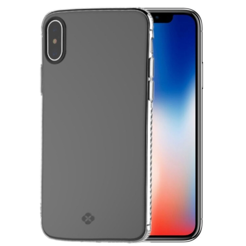 Buy TOTUDESIGN For iPhone X TPU Anti-slip Soft Protective Back Cover Case, Transparent for $2.66 in SUNSKY store