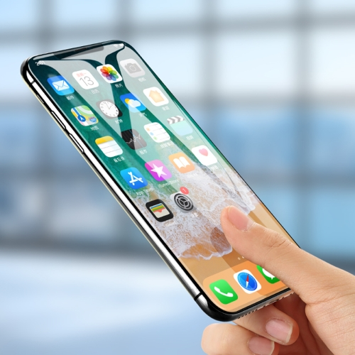 Benks VPRO 0.3mm Curved Edge Tempered Glass for iPhone X pkjg r60 2 fast food equipment for supermarket electric curved glass warmer showcase