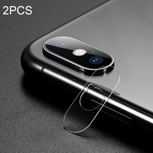 2PCS Benks for iPhone X 0.15mm Transparent Rear Camera Lens Protector Soft Tempered Glass Protective Film