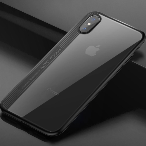 Buy TOTUDESIGN for iPhone X TPU + PC Dropproof Protective Back Cover Case, Black for $3.44 in SUNSKY store