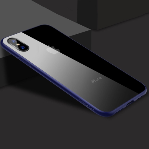Buy TOTUDESIGN for iPhone X TPU +PC Protective Back Case, Blue for $3.18 in SUNSKY store
