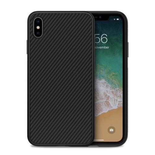 NILLKIN Anti-slip Texture PC Case for iPhone XS Max (Black)