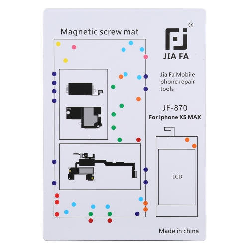 JIAFA JF-870 Magnetic Pad Screw Board for iPhone XS Max фото
