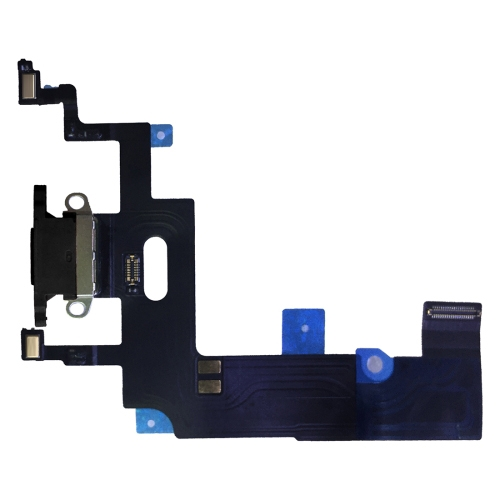 Charging Port Flex Cable for iPhone XR (Black)