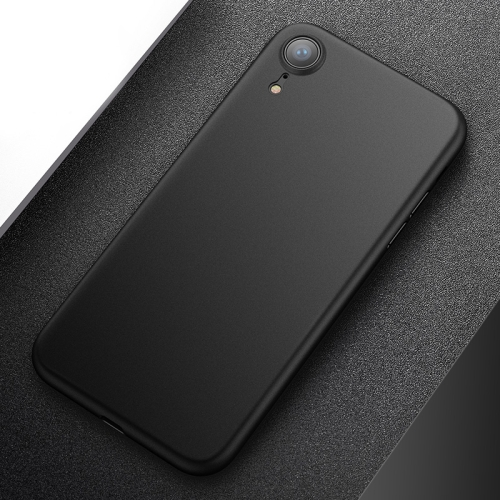 CAFELE PP Ultra-slim Matte Protective Back Cover Case for  iPhone XR(Black)