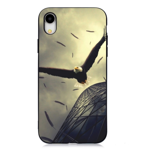 Eagle Painted Pattern Soft TPU Case for iPhone XR фото