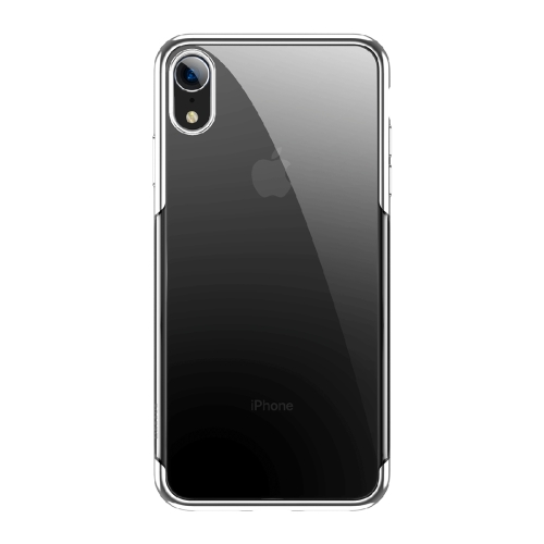iphone xr electroplated frame case
