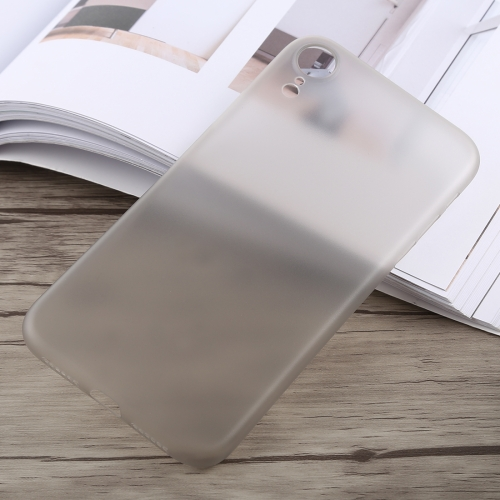 SUNSKY - 0.3mm Ultra-thin Frosted PP Case for iPhone XR (Grey)