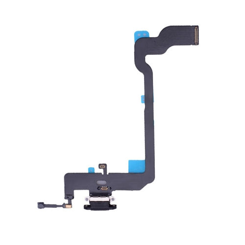 Charging Port Flex Cable for iPhone XS (Black) фото