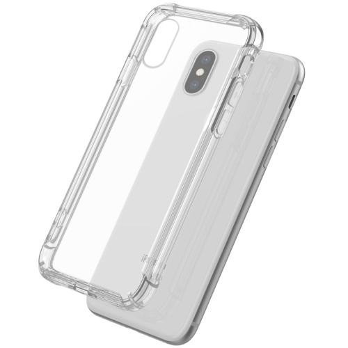 Shockproof Sound Conversion Hole Soft TPU Case for iPhone XS / X