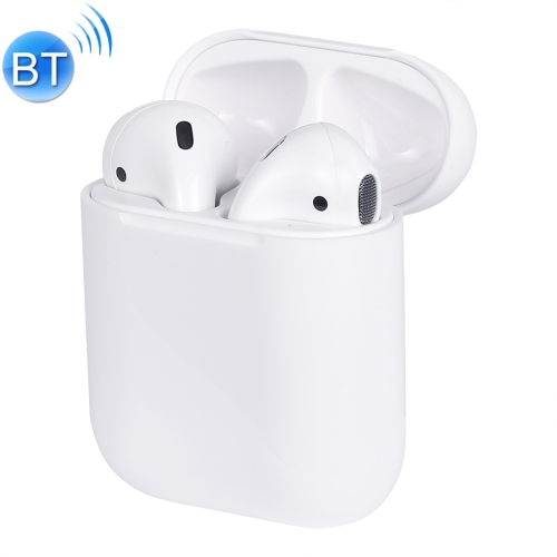 Dual Modes Stereo Bluetooth V5.0 Earphone with Charging Box & 8 Pin Port Cable, For iPhone X / XS, iPhone XR, iPhone XS Max, iPhone 8, iPhone 8 Plus, iPhone 7, iPhone 7 Plus(White)