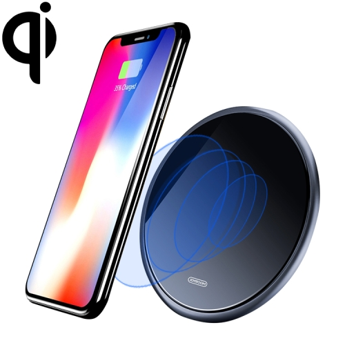 JOYROOM BWF1 Yi Series 10W Qi Standard Fast Wireless Charger, For iPhone, Huawei, Xiaomi, HTC, Sony and Other Smart Phones(Black)