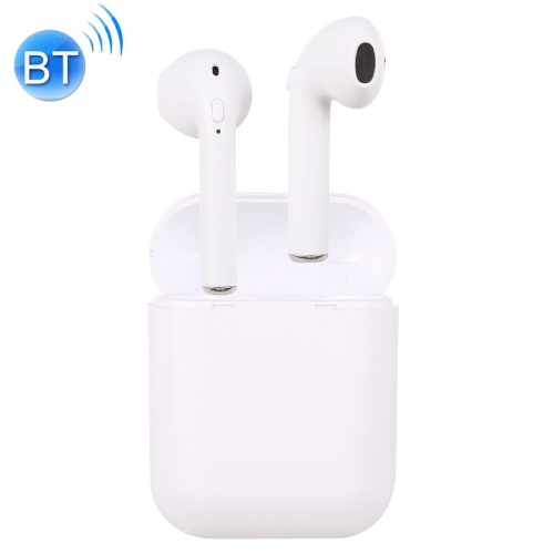 i11-TWS Bluetooth V5.0 Wireless Stereo Earphones with Magnetic Charging Box, Compatible with iOS & Android(White)