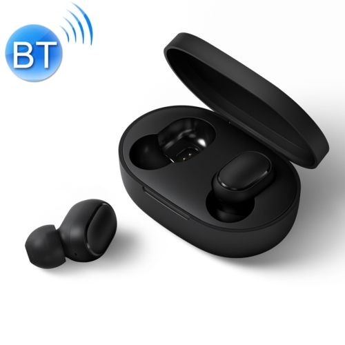 [HK Stock] Original Xiaomi Redmi AirDots TWS Bluetooth V5.0 Wireless Earphones, International Edition(Black)
