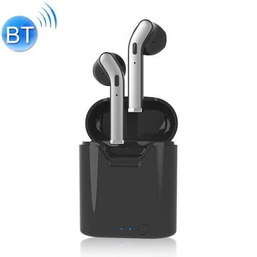 H17T TWS Bluetooth 5.0 Super Far Connection Distance Wireless Bluetooth Earphone with Magnetic Charging Box, Support IOS Power Display & Memory Matching Bluetooth & HD Call(Black)