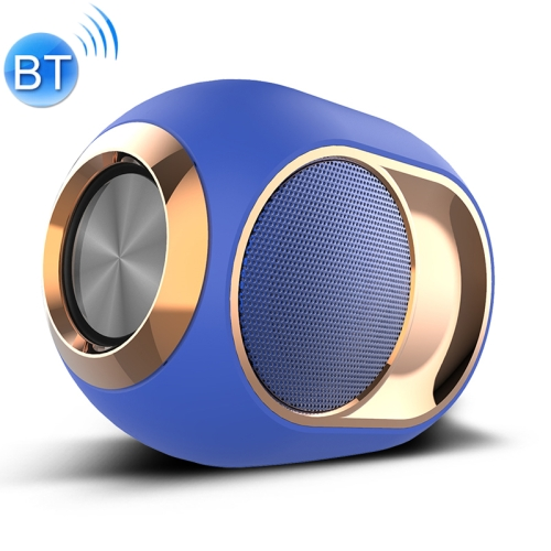 X6 TWS Outdoor Waterproof Bass Wireless Bluetooth Speaker, Support Hands-free / USB / AUX / TF Card (Blue)