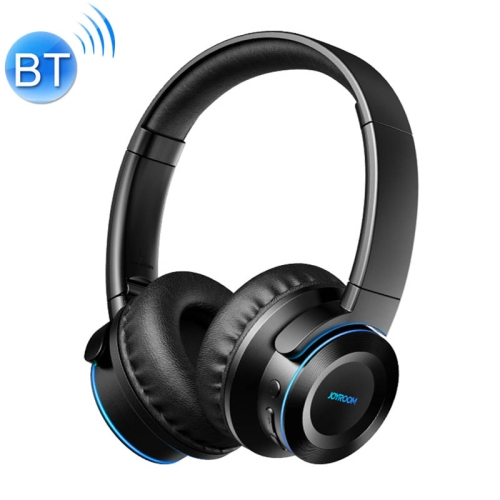 JOYROOM JR-H16 Bluetooth 5.0 Fashion Design Bluetooth Headphone with Breathing Lamp (Black)