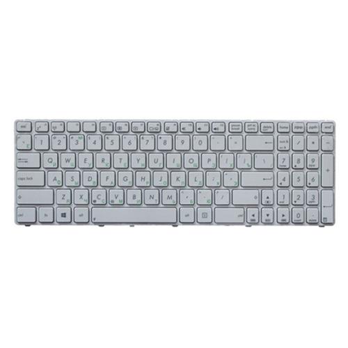 RU Keyboard for Asus K52 k53s X61 N61 G60 G51 MP-09Q33SU-528 V111462AS1 0KN0-E02 RU02 04GNV32KRU00-2 V111462AS1(White)