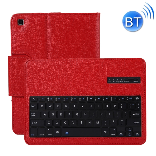 SA720 Detachable Bluetooth Keyboard + Litchi Texture PU Leather Protective Cover with Holder for Galaxy Tab S5e 10.5 T720/T725 (Red) фото