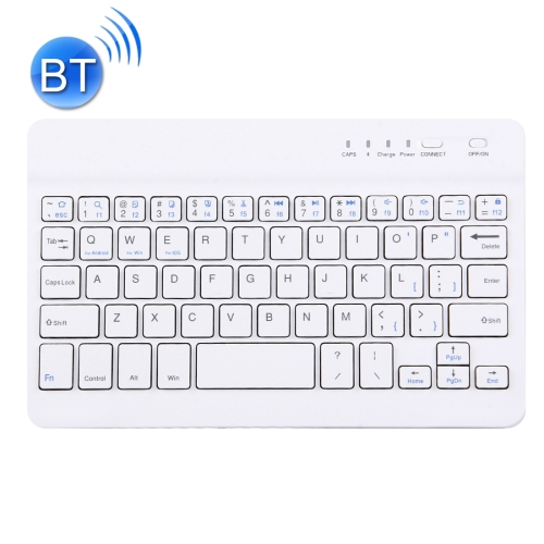 Buy Mini Universal Portable Bluetooth Wireless Keyboard, Compatible with All Smartphone / Tablets with Bluetooth Functions, White for $8.74 in SUNSKY store