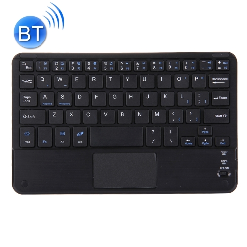 Bluetooth Wireless Keyboard with Touch Panel, Compatible with All Android & Windows 9 inch Tablets with Bluetooth Functions(Black) фото