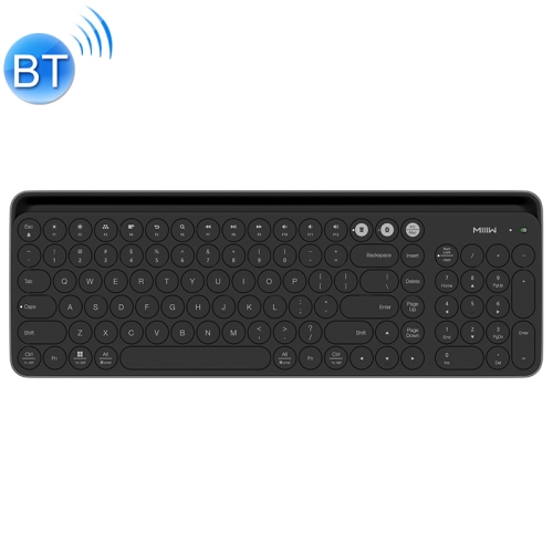 Xiaomi MIIIW 102 Keys Bluetooth + 2.4GHz Wireless Dual Modes Keyboard(Black)